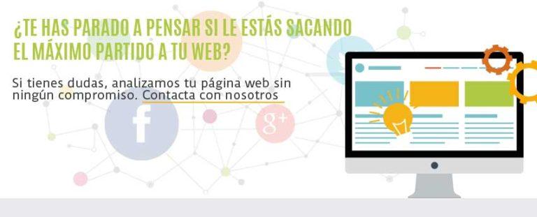 diseño web contacto