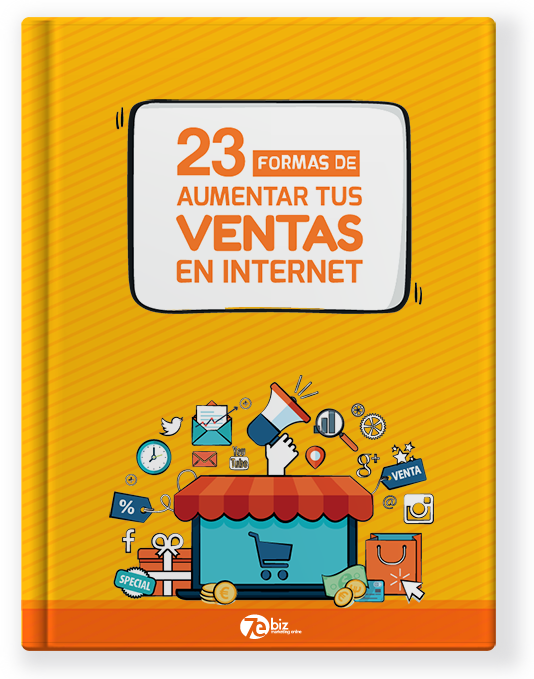 Ebook 23 Formas de aumentar tus ventas en internet 7Ebiz Marketing Online